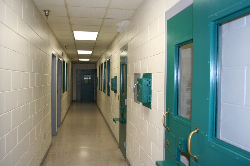 Detention Facility hallway