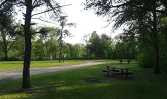 Frame&#39s Landing Campground
