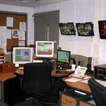 View of a dispatch desk